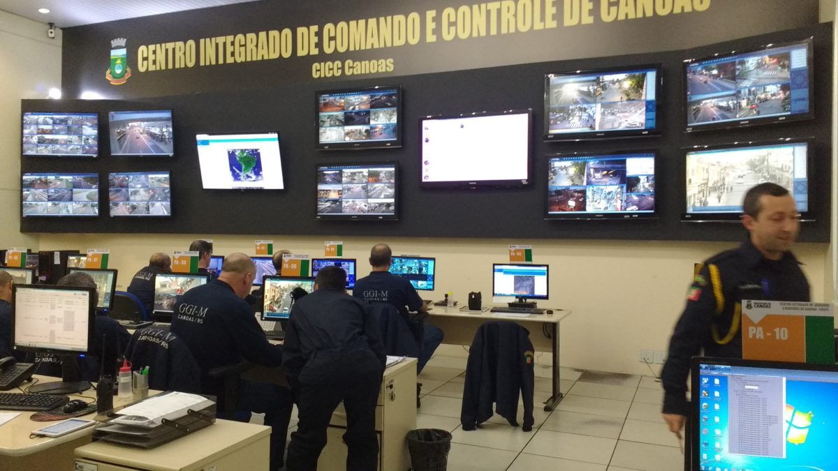 Central de Vídeo Monitoramento de Canoas